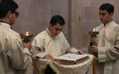 Տոնական ժամերգություն Գևորգյան հոգևոր ճեմարանում