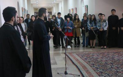 «Արարող ձեռքեր» շարքի երրորդ ցուցահանդեսը Գևորգյան հոգևոր ճեմարանում