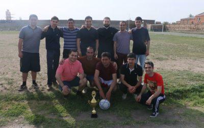 ԳՀՃ միջլսարանային ֆուտբոլային առաջնության եզրափակիչ խաղը