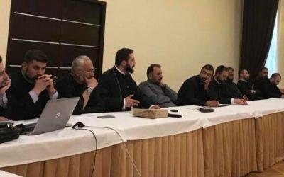 ԳՀՃ Տեսչի հանդիպումը ՀՀ ՋՈւ հոգեւոր առաջնորդության գնդերեցների հետ